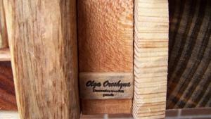 Wooden block panel