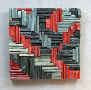 eco art, office art, wood wall decoration, cottage decoration, wooden blocks panel, acoustic panel
