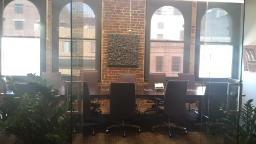 corporate art, office acoustic, wood wall art, conference room acoustic