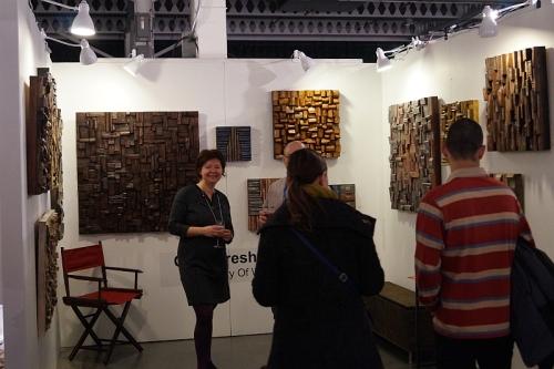 Olga Oreshyna, Art Toronto, wood art