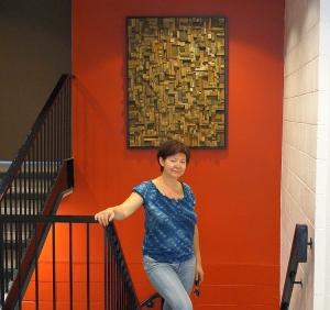 wooden art, office art, public art