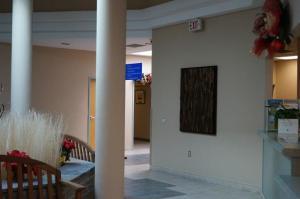 Newmarket City Hall, public art, wooden art, eco art, office art, environmental art, recycled wood art