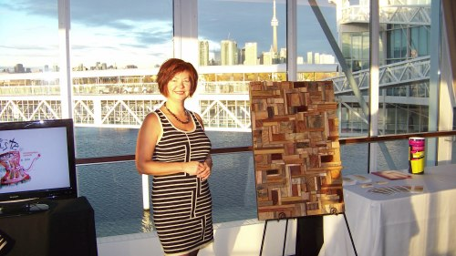 Gold winner of 2010 Ontario WMA for Art Category. In recognition of excellence & commitment to sustainable environment.