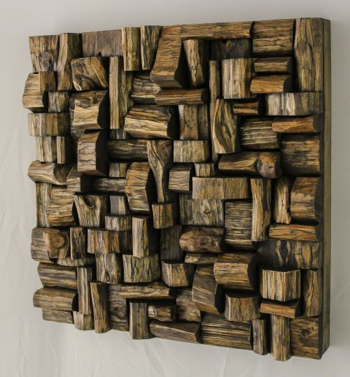 wood wall art, recycled wood art, wood art,