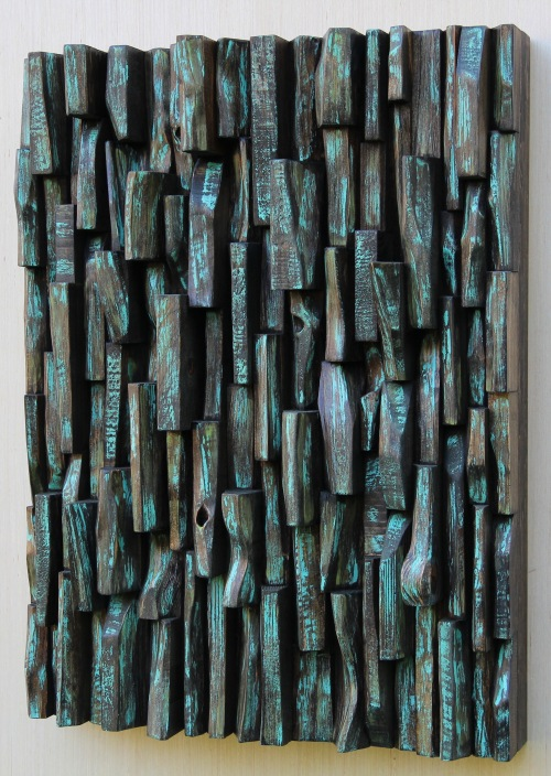 wood art, painting on wood, abstract painting, wood sculpture, zen art, interior design, corporate art, office art, wood interior design, home decor, wood blocks panel, wood assemblage