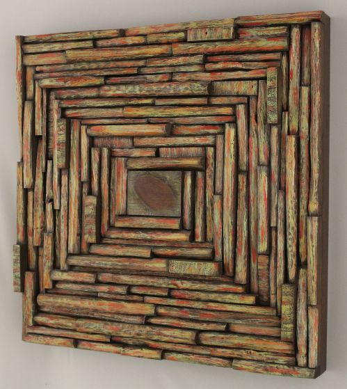 wood art, wall art ideas, wooden panel, nature inspired art, recycled wood art