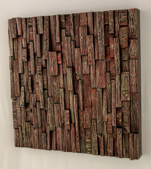 corporate art, wabi sabi art, wood art, recycled wood art, wood wall art ideas