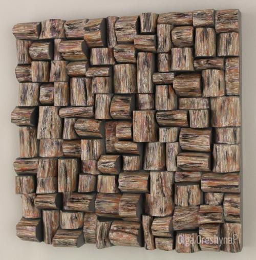 wood wall sculpture, abstract sculpture, interior design ideas, home decor, wood blocks sculpture,