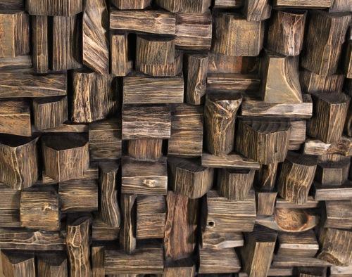 wood wall art, wood acoustic diffuser, wood acoustic panel, wood art