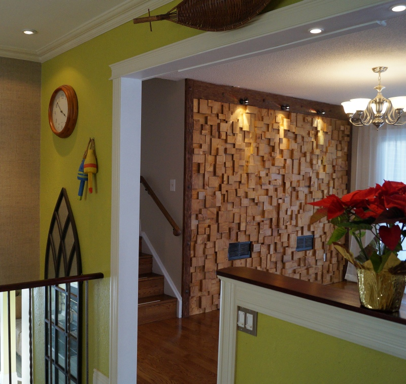 Eccentricity Of Wood | Wooden blocks panels