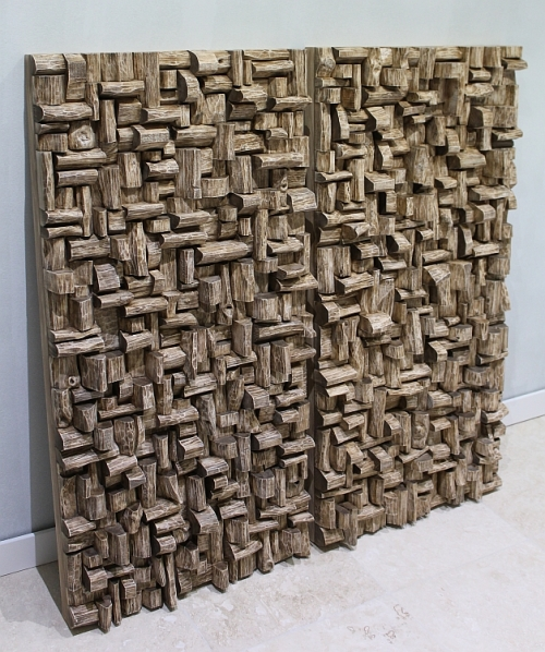 Acoustic panels for Entertainment room, wood art acoustic panels, wood sound diffusers, acoustic treatment, audio diffusers