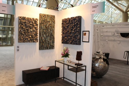 IDS Toronto, interior design show Toronto, acoustic panels, wood art, wood sound diffusers, innovative design, wood art, wood blocks panels