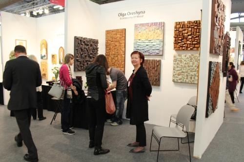 Artexpo New York, Olga Oreshyna, AENY, Artexpo NY, Olga Oreshyna wood art