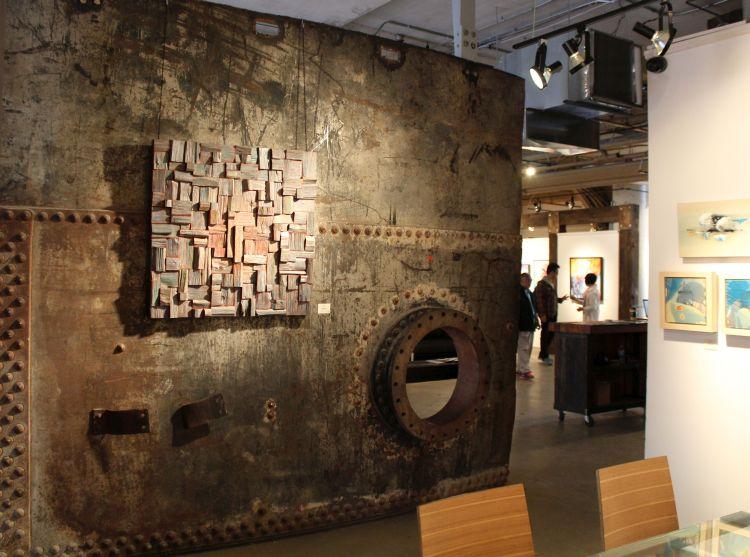Corporate Art, Wood Wall Art, Contemporary Wood Art, Recycled Wood Art,  Corporation