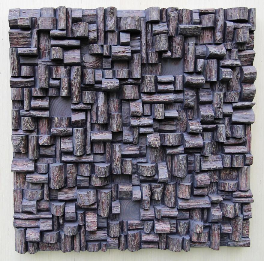 wood wall art, corporate art, office art, wood blocks assemblage, interior design, nature inspired art, cottage life, wood blocks panel, eccentricity of wood