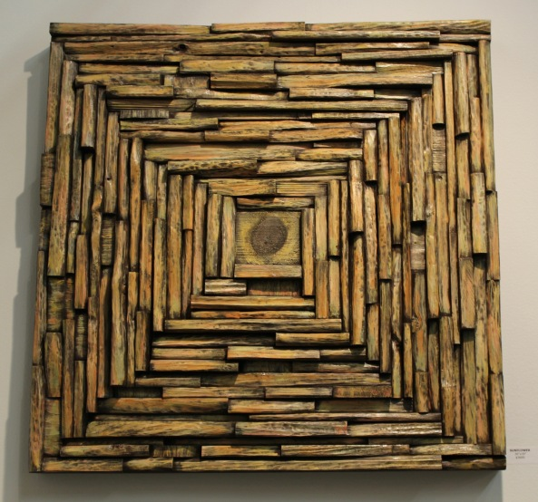 wall art ideas, wood wall sculpture, wood blocks assemblage, wood mosaic, corporate art, art expo NY, interior design ides, cottage decoration, nature inspired art, wall art, wood interior design