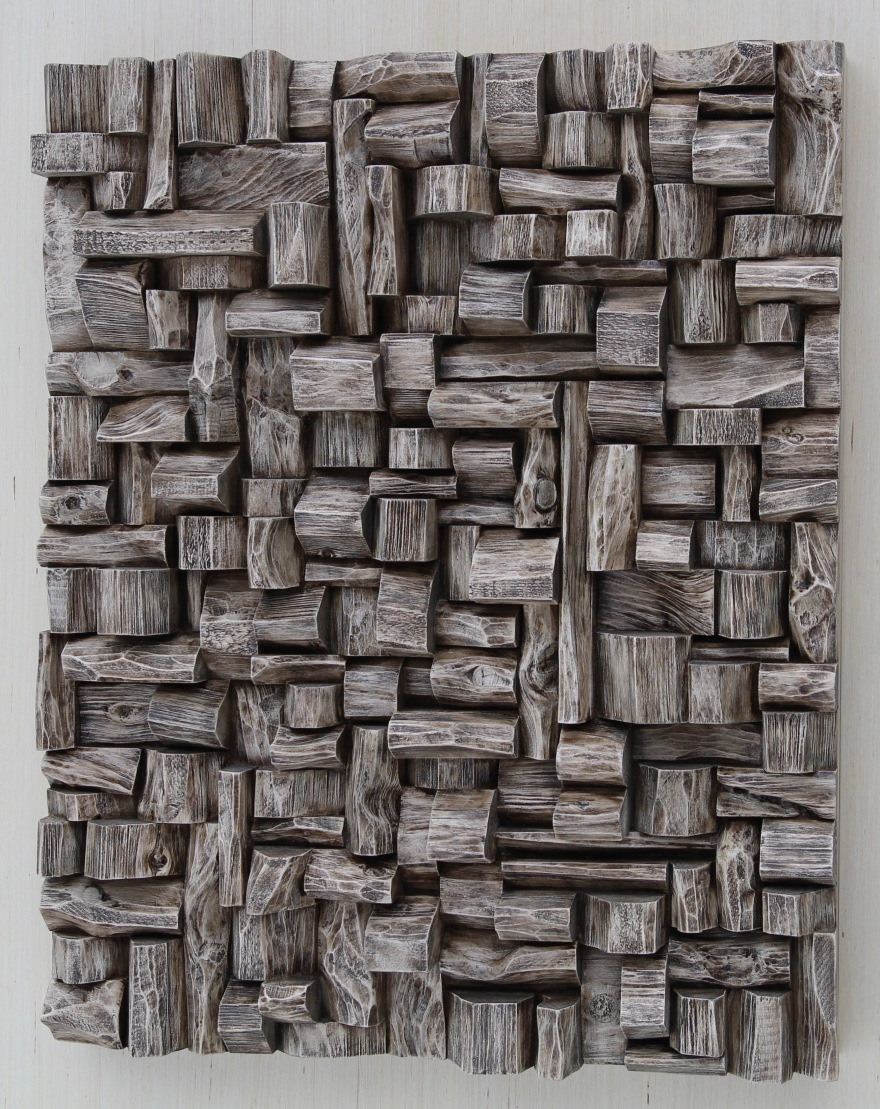 TAVES2017, wood art, 3d art, wood wall sculpture, zen art, wabi sabi art, cottage life, corporate art, Toronto art, wood assemblage, wall art ideas, interior design, home styling, nature decor, office art