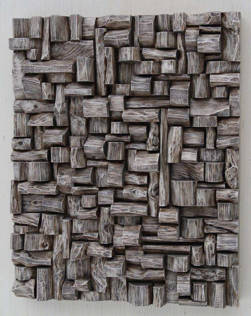 TAVES2017, wood art, 3d art, wood wall sculpture, zen art, wabi sabi art, cottage life, corporate art, Toronto art, wood assemblage, wall art ideas, interior design, home styling, nature decor, office art