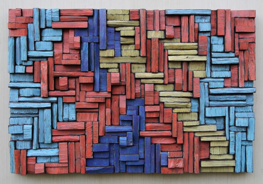 wood art, abstract painting on wood, wood sculpture, wood wall art, 3d art, 3d wall decor, interior design
