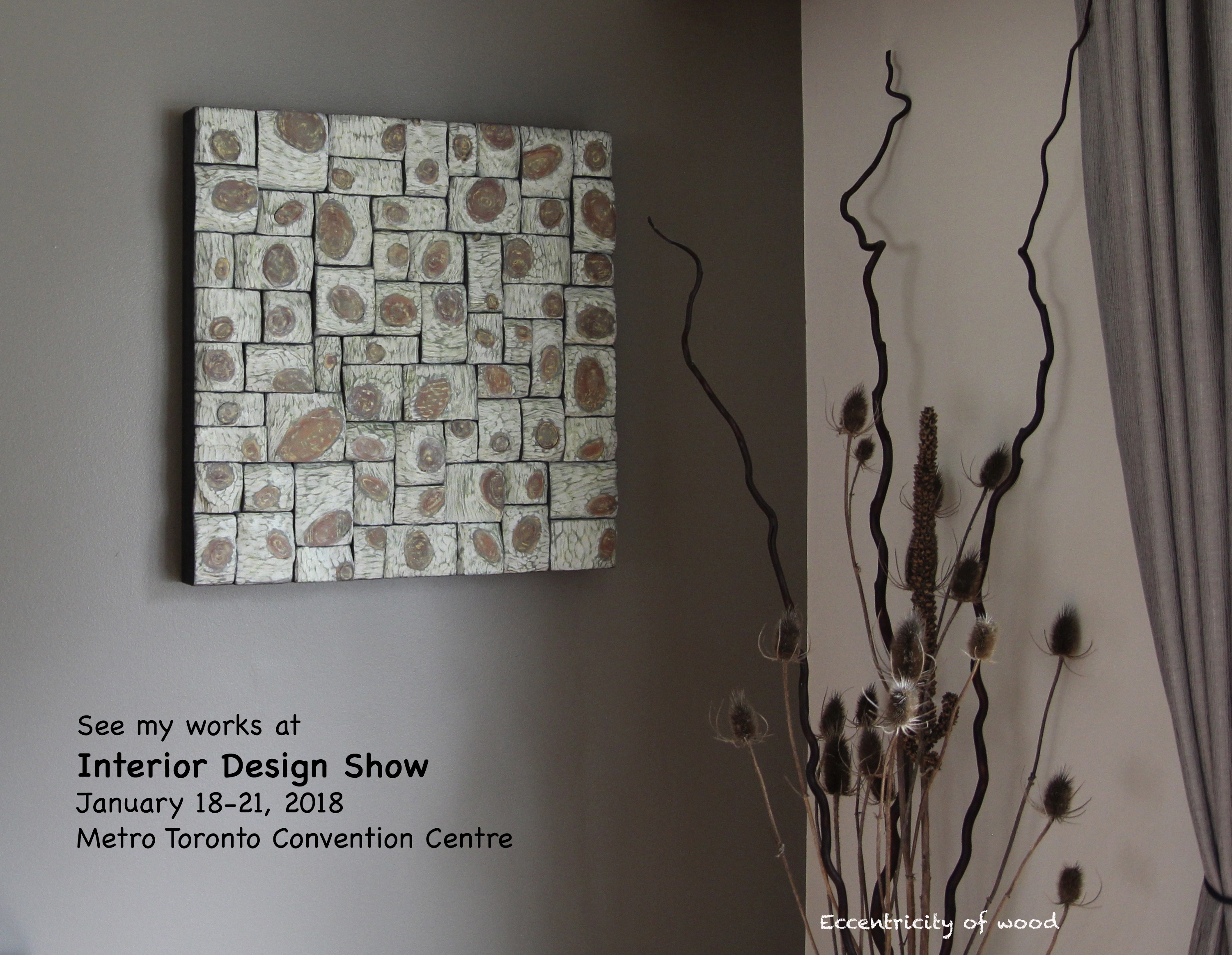 IDS Toronto, Interior Design Toronto, Home Decor, Wall Hanging Sculpture,  Wood Interior